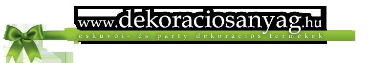 dekoraciosanyag webáruház, webshop