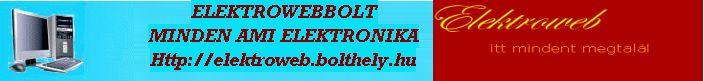 elektroweb web�ruh�z, webshop
