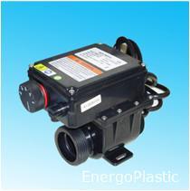 Elektromos hőcserélő (vízfűtés) 3000W hőfokszabályzós