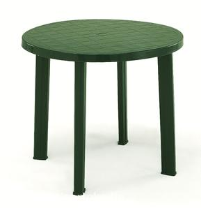 TONDO zöld asztal átm: 90cm
