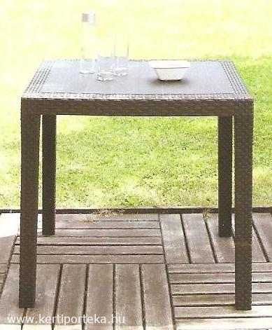 KING mokka barna asztal 79x79cm