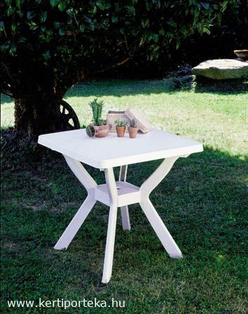 NILO 79x79cm fehér asztal