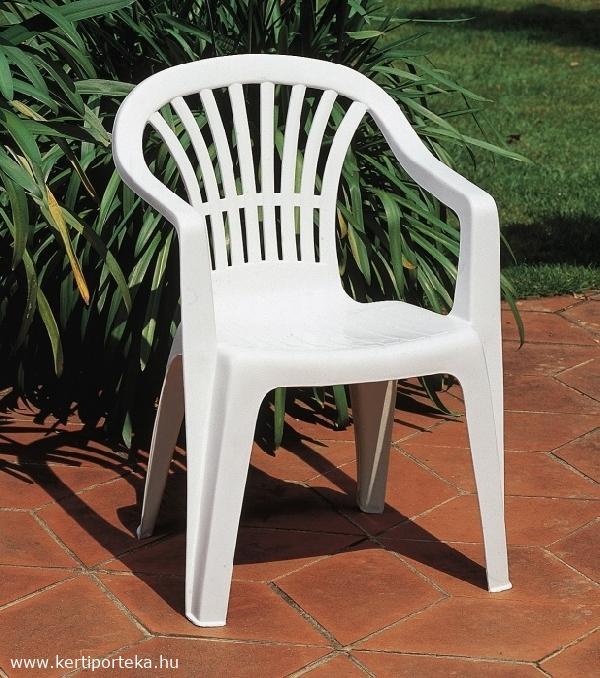 ALTEA alacsony támlás fehér szék