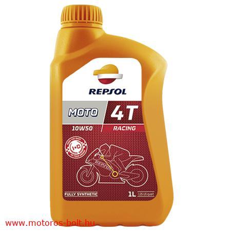 Repsol Racing 4T 10w50 morokerékpár olaj 1l.
