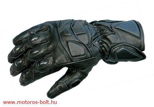 Shox Kgnight bőr motoros kesztyű