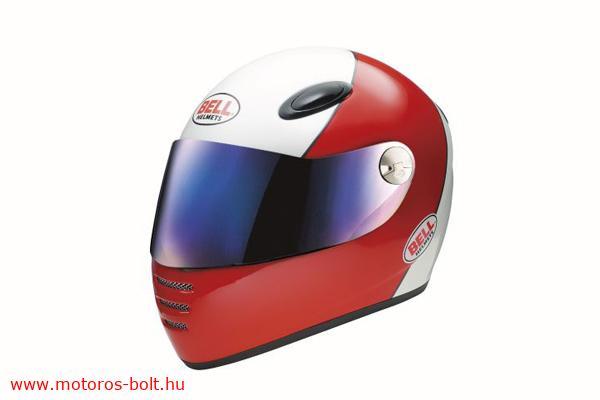 Bell M1 motoros bukósisak piros-fehér