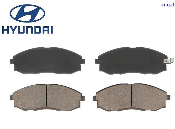 Fékbetét garnitúra első  Hyundai H1