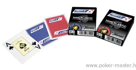 Fournier - EPT (European Poker Tour) 100% Plastic kártya (12db)