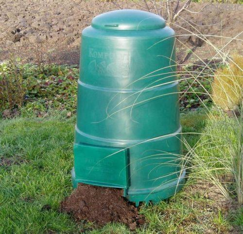 Házi komposztáló (400 literes)