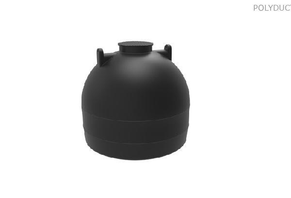 5000 literes álló hengeres tartály