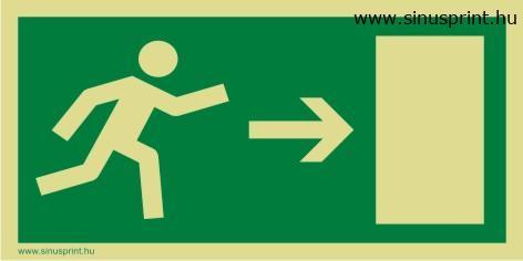 Menekülési út jobbra