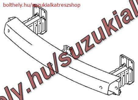 Lökhárító merevítő felső Suzuki SX4  benzines 58270-79J00 utángyártott
