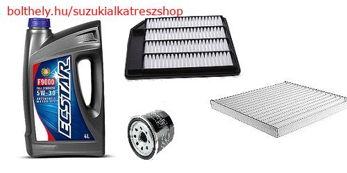 Szervíz szett Suzuki Vitara SX4 S-Cross K14C 1,4 turbo ECStar 5W30 S49192