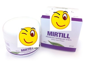 MIRTILL ÁLTALÁNOS TESTÁPOLÓ KRÉM 50ml