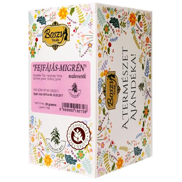 FEJFÁJÁS - MIGRÉN filteres tea 20db