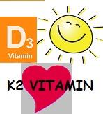 D3-vitamin K2-vitaminnal - Vitamin D3 2000 IU 100db