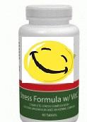 Stresszcsökkentő formula macskagyökér kivonat, golgotavirág, B1, B2, B6, B12 vitamin, kalcium, magnézium és gyógynövény komplex tartalommal - Stress Formula 90tabs