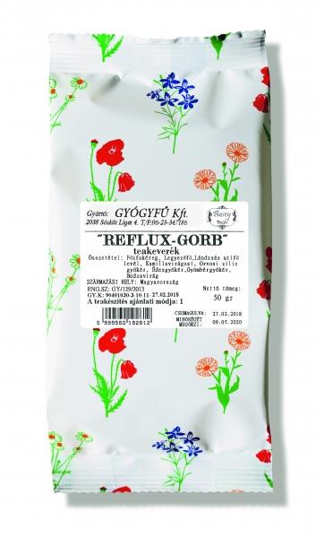 REFLUX-GORB szálas keverék tea 50gr