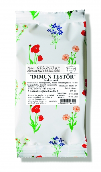Immun-Testõr szálas keverék tea 50g