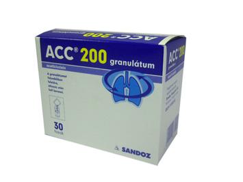ACC 200 granul�tum 30x3 g