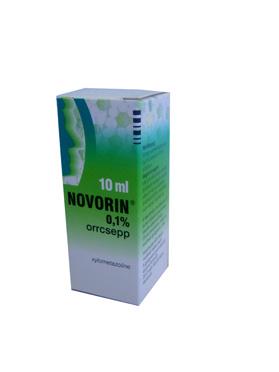 Novorin orrcsepp 0.1% 10ml
