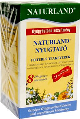 Nyugtat� tea filteres 20x1g Naturland *