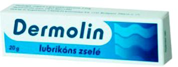 Dermolin lubrik�ns zsel� 20g