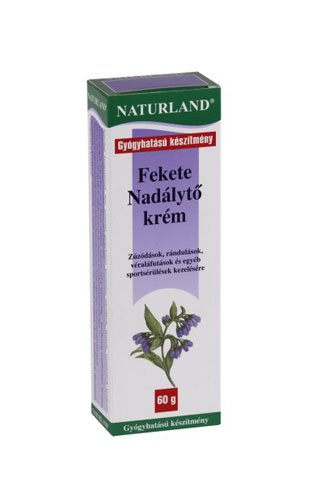 Naturland Fekete nad�lyt� kr�m 60g