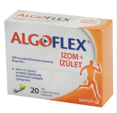 Algoflex izom+iz�let 300mg retard kem�ny kapszula 10x