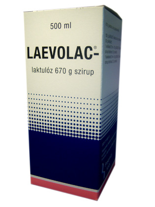 Laevolac-laktul�z 670 g szirup
