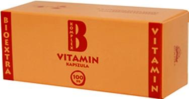 Vitamin B komplex Bioextra kapszula 100x