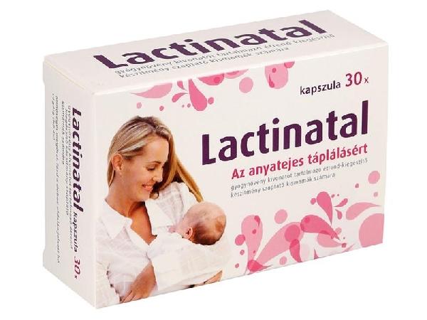 Lactinatal kapszula 10x anyatej termel�d�st fokoz�