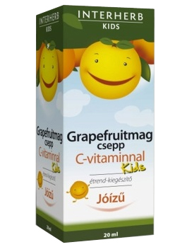 Grapefruitmag csepp Kids C-vitaminnal 20ml Interherb