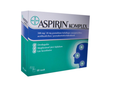 Aspirin komlplex granul�tum 10x