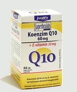Jutavit koenzim Q10 60mg+E vitamin kapszula 60x