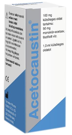 Acetocaustin oldat 0.5ml szemölcseltávolító * - ARCANUM..