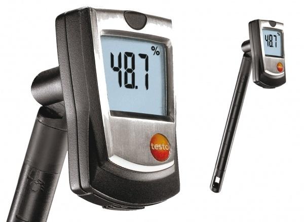 Testo 605-H1 páratartalom és hőmérsékletmérő