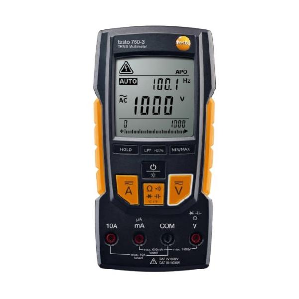 Testo 760-2 digitális multiméter 0590 7602