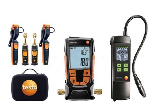 Testo mérőműszer szett gyors mérésekhez és javítási munkákhoz