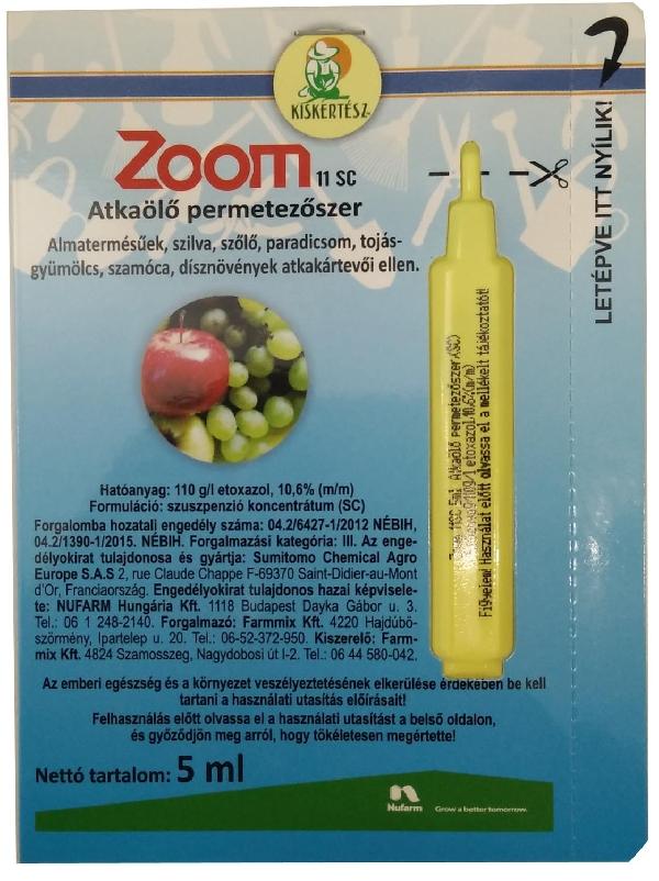 Növényvédőszer Zoom AMP 5ml