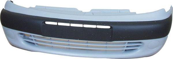 Citroen Xsara Picassó Alapozott első lökhárító lámpalyukkal fekete szegéllyel, 00-03.04