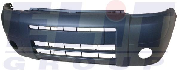 Peugeot Partner lokhárító fekete 03-