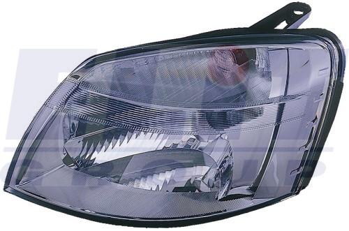 Peugeot Partner 03- fényszóró bal