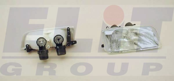 Citroen Zx fényszóró 91- , 2 H1