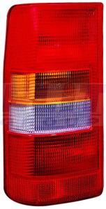Citroen Jumpy hátsó lámpa üres bal