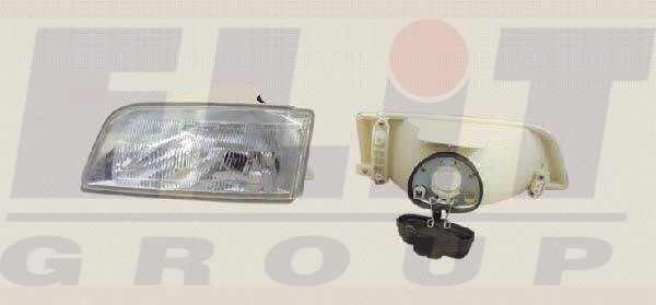 Citroen ZX fényszóró H4 bal