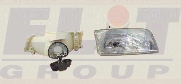 Citroen ZX fényszóró H4 jobb