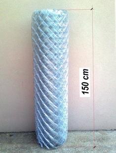Horganyzott drótfonat 1,5 méteres (150 cm)