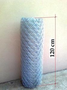 Horganyzott drótfonat 1,2 méteres (120 cm)