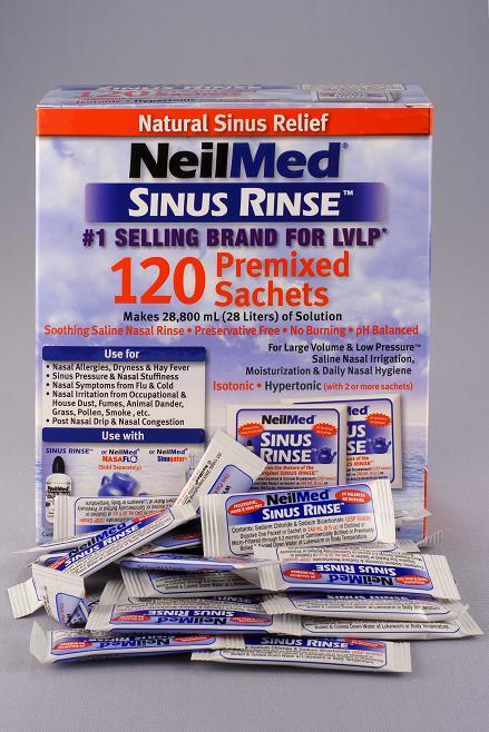 SinuRinse™ 120 tasak sókeverék (9 év felettieknek)